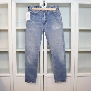 RE/DONE Levis Relaxed Straight Womens Jeans Sz 24